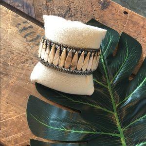 Sorrelli Riverstone Statement Cuff Bracelet